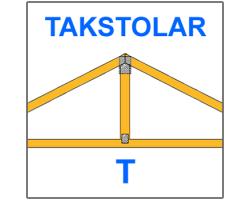 T-takstolar